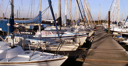 Hayling Yacht Co Pontoons